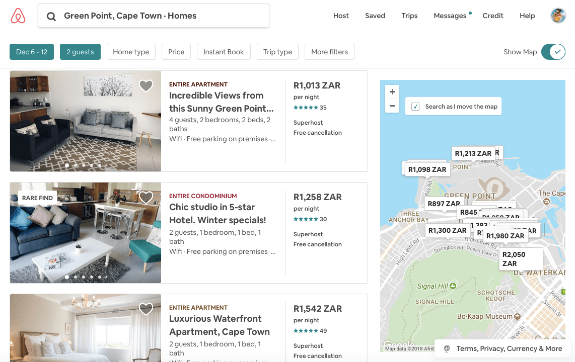 Beginners guide on how to use Airbnb to book travel accommodation - michalah francis