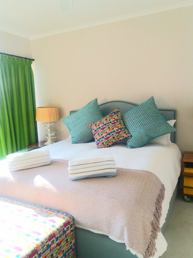 nside our Gordon's Bay Airbnb the affordable way to travel michalah francis 4