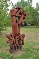 sculpture in the park, 2012, Warsaw-Ursynów