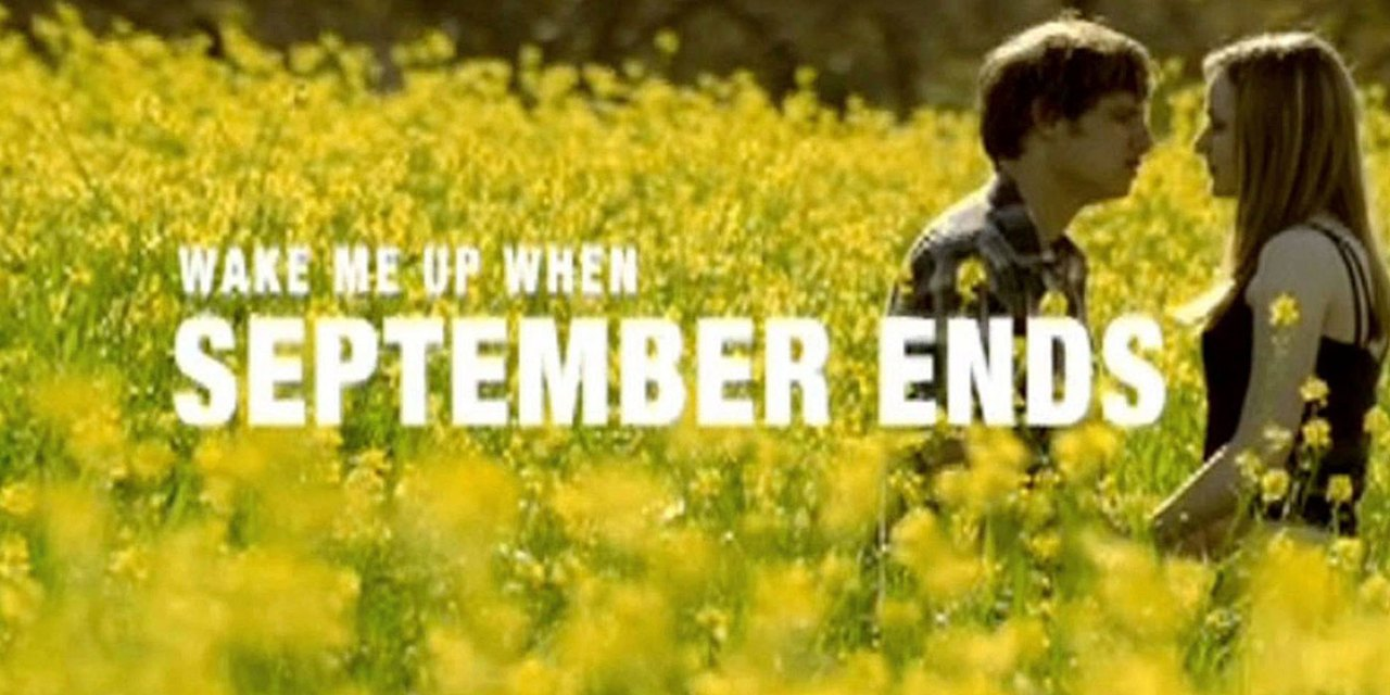 Green Day – Wake Me Up When September Ends