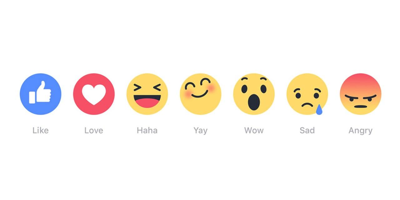 Nowe ikonki reakcji na Facebooku. Łolaboga, kuniec świata!!!!1