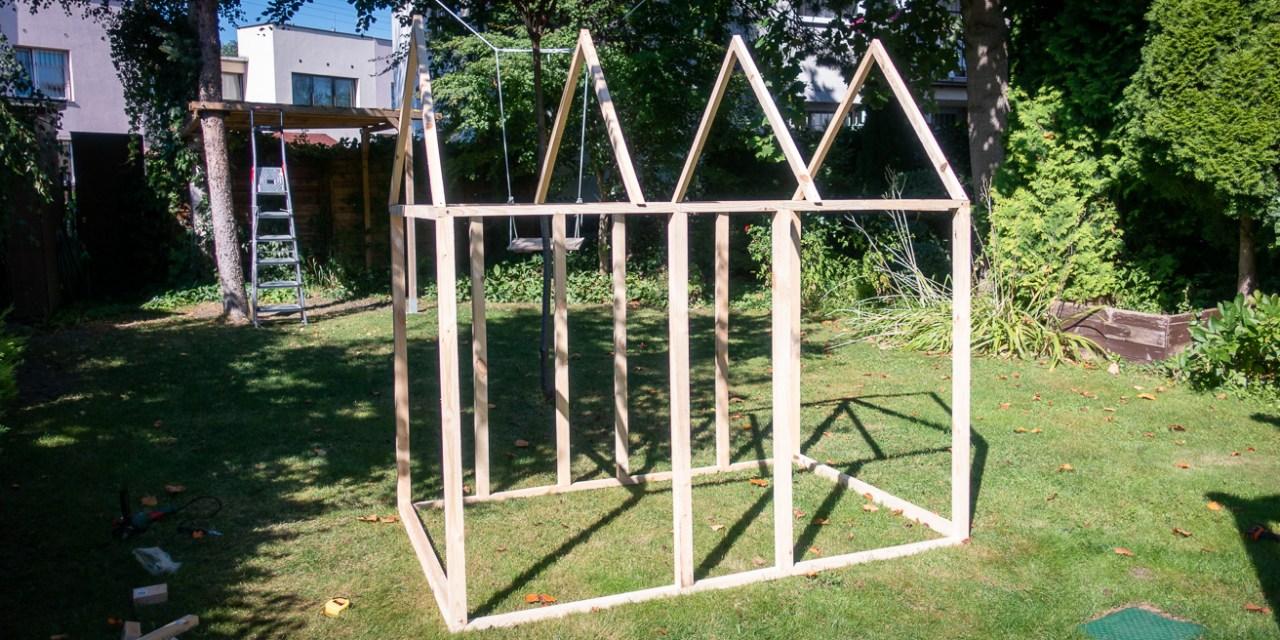 Skandynawski domek na drzewie: #3 Konstrukcja