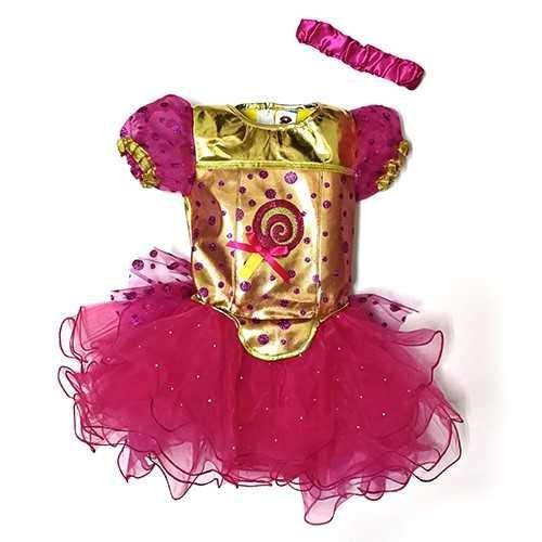 השמלה הנוצצת של מיכל הקטנה תחפושת לילדות