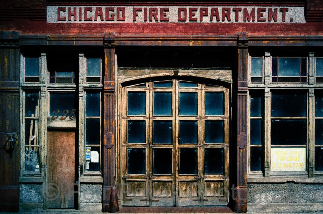Abandoned Chicago Fire station