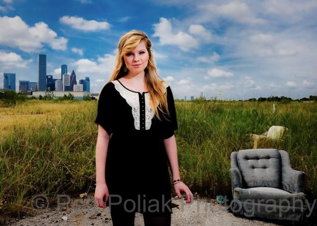 Portrait of daughter –Houston