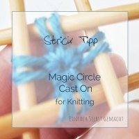 Magic Circle Cast On for Knitting