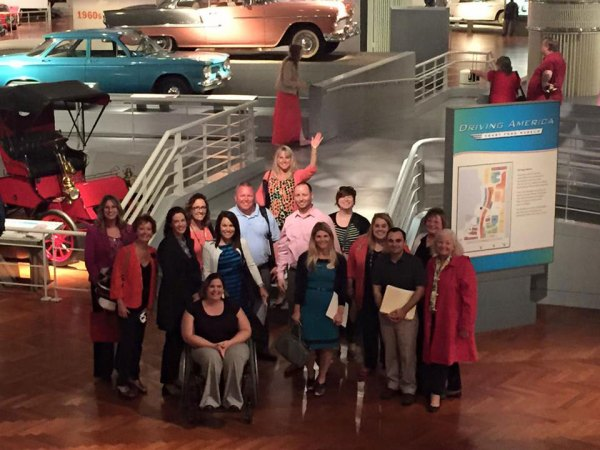 Members of the MACP Program Committee travel to see the next Chamber Convention host location