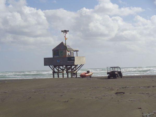 En la playa de Kare Kare, en la isla norte de Nueva Zelanda, Neil Finn, líder de Crowded House, construyó un estudio de grabación.
