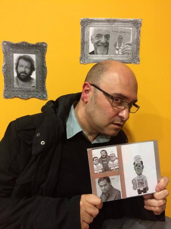 Pedro Vera presenta Ranciofacts en las entrevistas chambergas