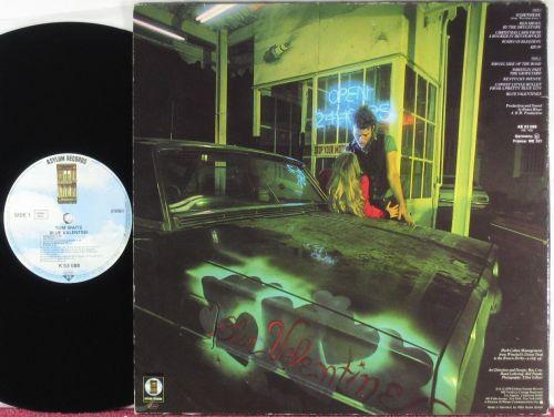 "Portada de ""Blue Valentine"", el disco de Tom Waits que contiene ""Romeo is bleeding"""