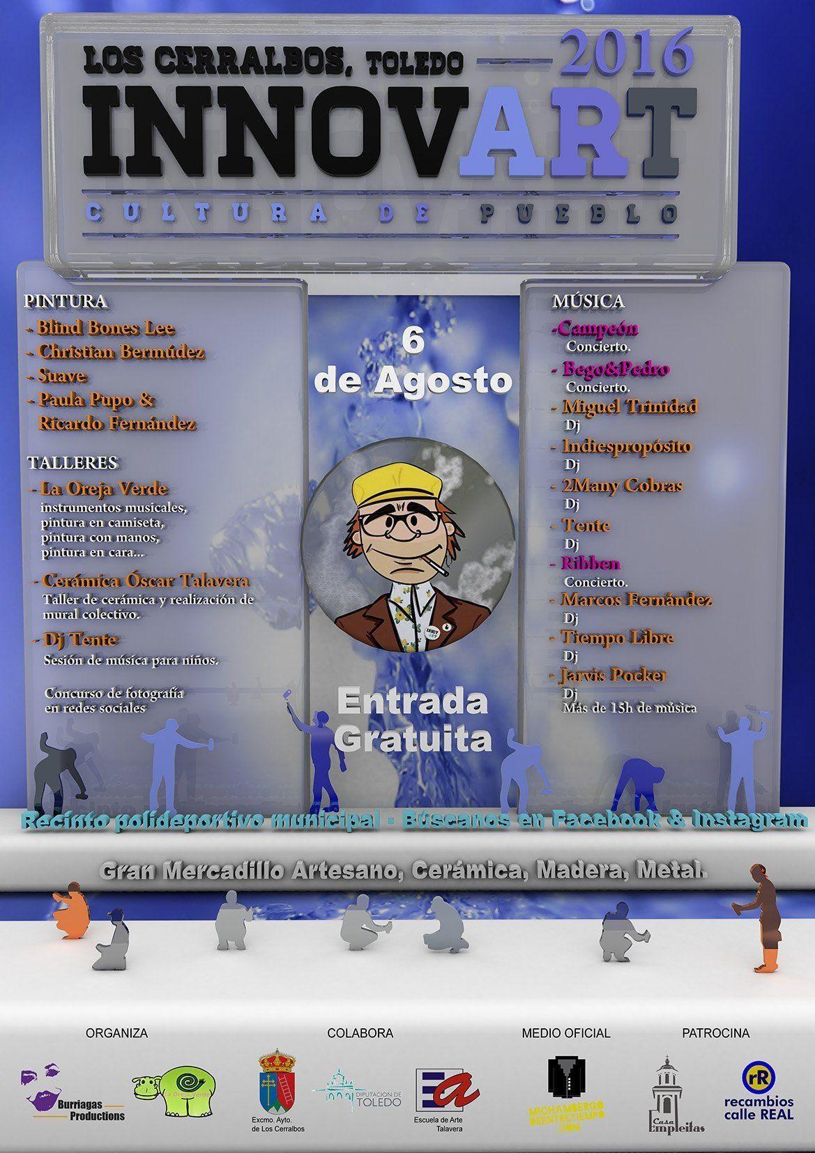 Festival Innovart Los Cerralbos