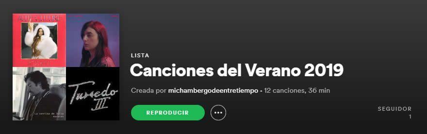 Canción del verano 2019