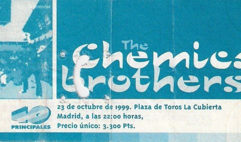 The Chemical Brothers presentaron en concierto su disco Surrender en La Cubierta de Leganés en 1999