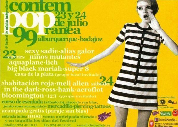 Edición de 1999 del festival de música independiente de Alburquerque