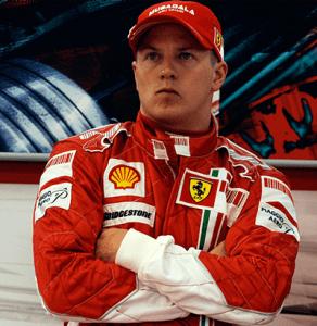 Kimi Räikkönen en Ferrari
