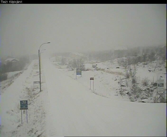Nieve en Kilpisjärvi