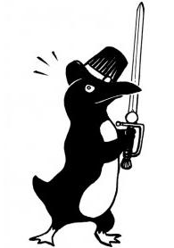 Espada y sombrero de doctorado
