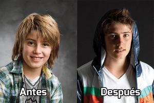Robin Packalen - antes y después