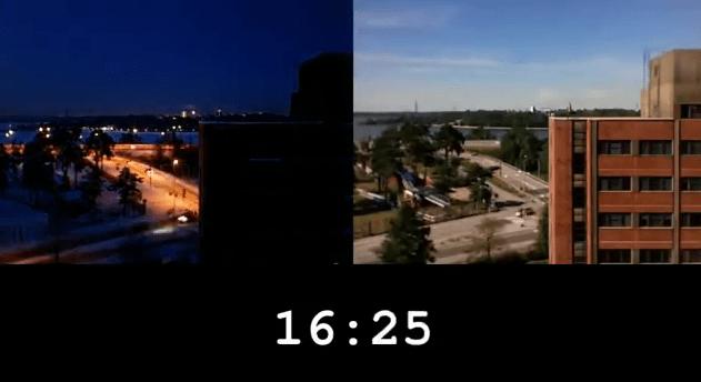 Diferencia de luz entre el invierno y el verano [VÍDEO]