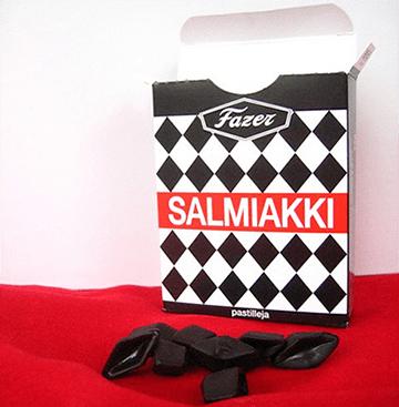 El regaliz que se come en Finlandia, Salmiakki