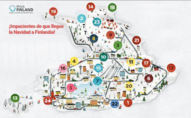 El calendario de adviento, ahora online y en versión Finlandia