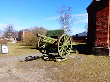 Cañón en Suomenlinna