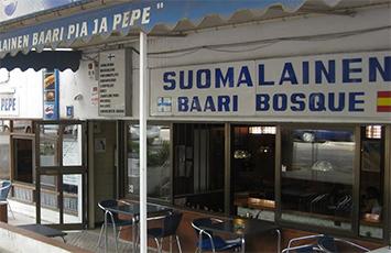 Bar finlandés en Mallorca