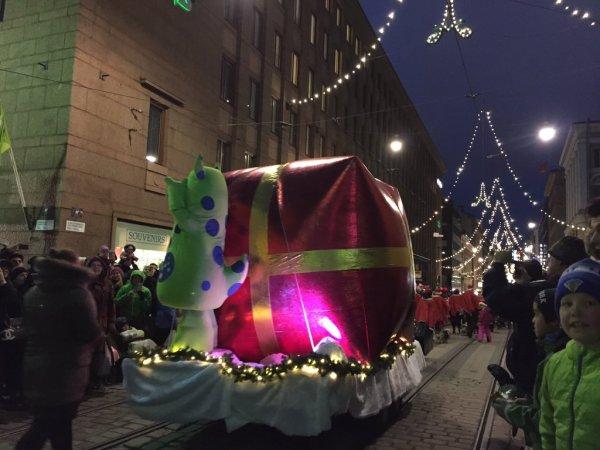 Inauguración de la Navidad en Helsinki