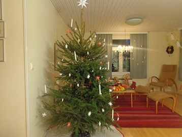 La decoración de Navidad en Finlandia