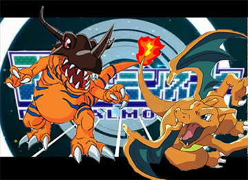 Digimon VS Pokémon