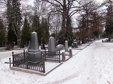 Cementerio de Hietaniemi en Helsinki