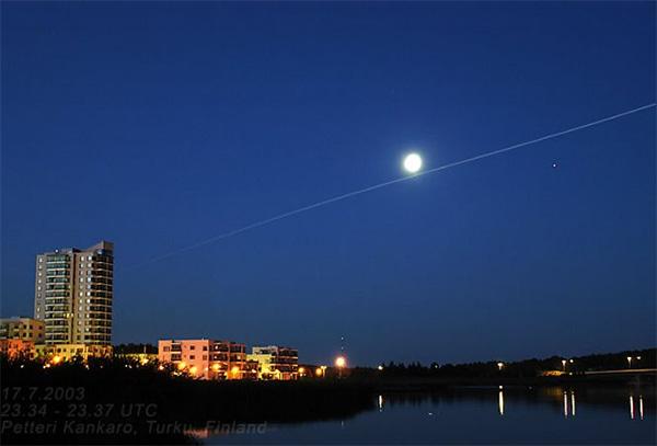 Turku, la luna y la Estación Espacial Internacional