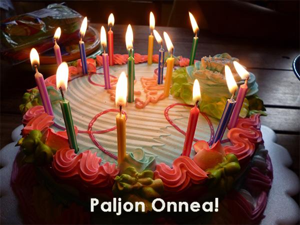 Cuarto aniversario Michan en Finlandia