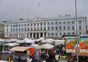 Kauppatori, donde comprar souvenirs en Helsinki