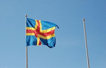 Bandera Åland