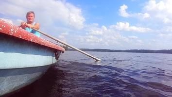 Navegar lago Finlandia
