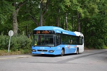 Bus transporte Helsinki