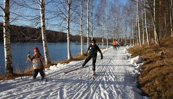 Almacenes de nieve Finlandia