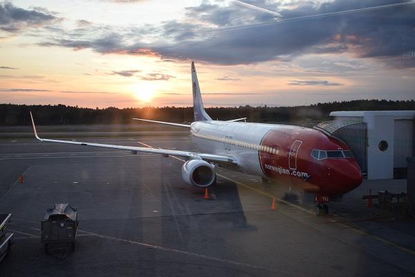Avión Norwegian