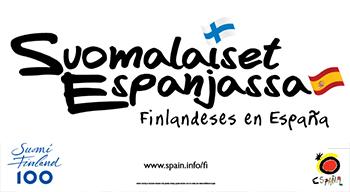 Cartel exposición finlandeses España