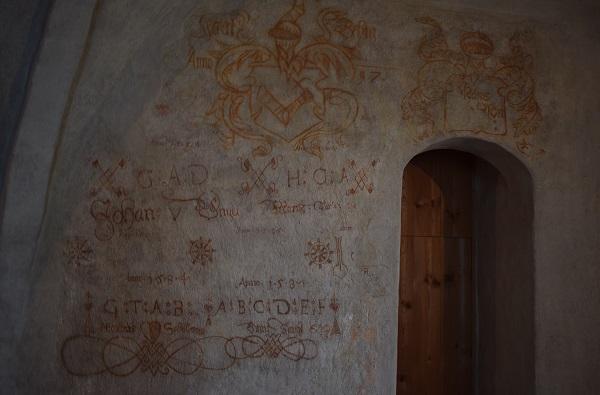 Pared pintada Turun linna