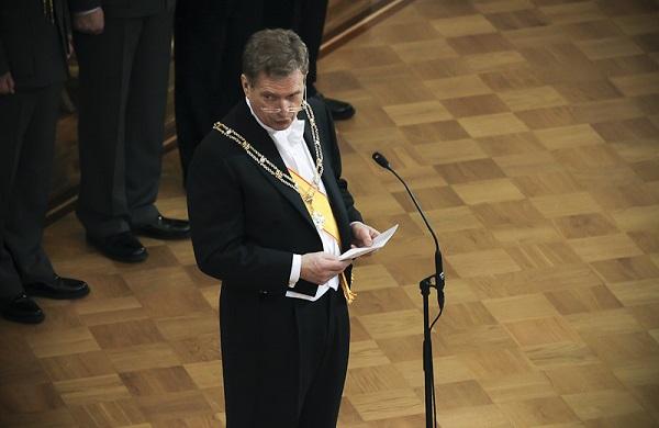 Presidente República Finlandia Sauli Niinistö