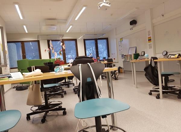 Aula colegio Finlandia