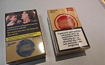 consumo tabaco Finlandia