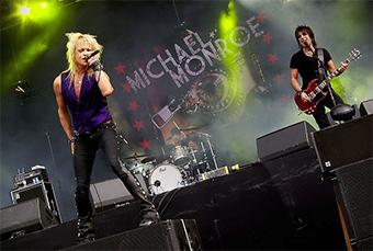 Michael Monroe rockero finlandés