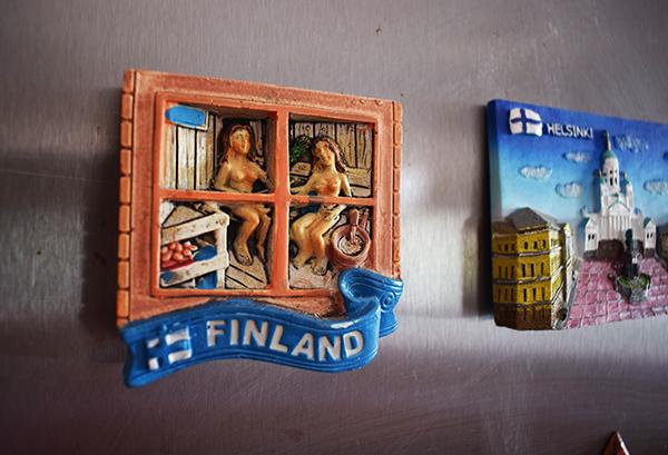 Imán sauna finlandesa