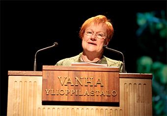 Tarja Halonen presidenta Finlandia