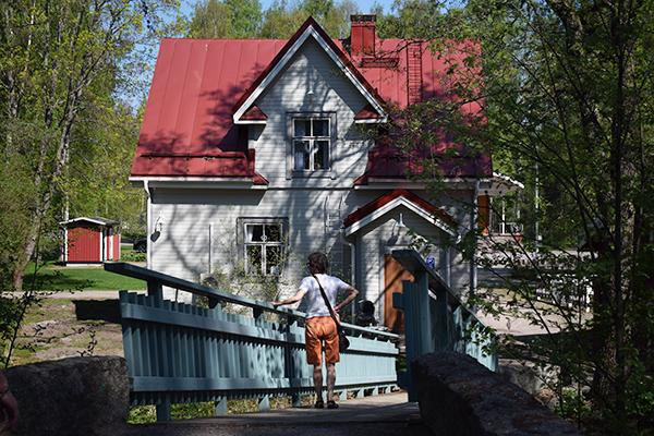 Vääksy pueblo Finlandia