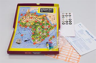 Afrikan tähti juego de mesa Finlandia