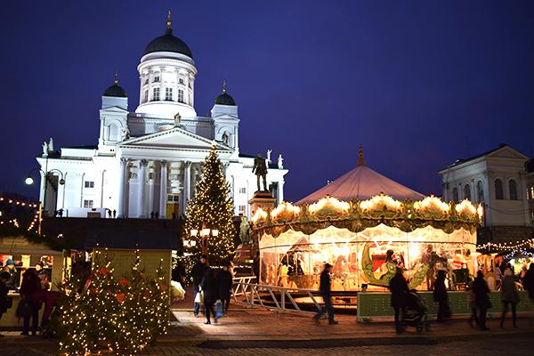 Mercadillo Navidad Helsinki